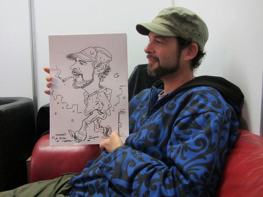 live caricature cultiva