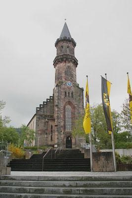 St. Georgskirche, in der einst Martin Luther predigte