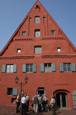 Altes Fischerhaus, jetzt Heimatmuseum der Stadt
