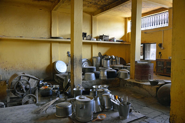 Gurudwara Gobind Dham, Küche