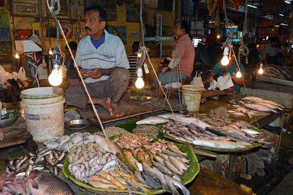Fischmarkt Kalkutta