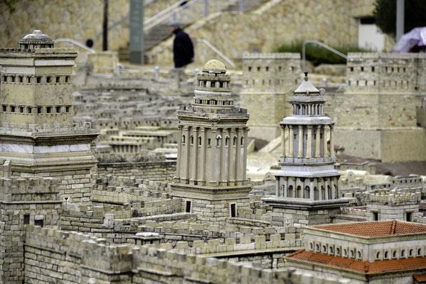 Modell Jerusalem zur Zeit Jesu