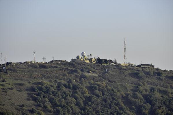 Blick vom Mount Bental