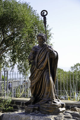 Skulptur des Petrus