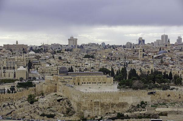 Jerusalen, Blick vom Ölberg