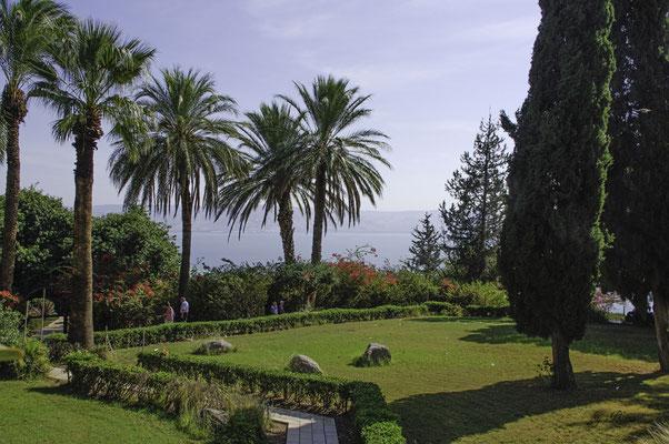 Umgebende Gärten