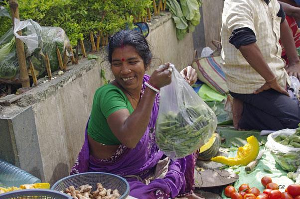 Gemüsemarkt Kalkutta