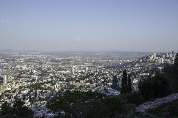 Blick vom Mount Carmel