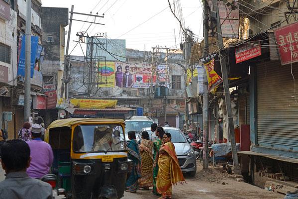 Gassen von Varanasi