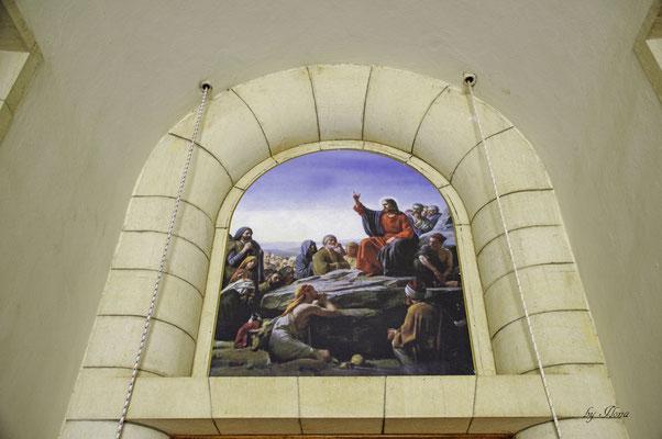 Kirche der Seligpreisungen, Innenraum