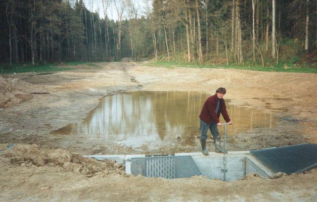Der Trübelbachweiher bei St. Urban war ein Projekt aus dem Naturschutz-Leitplan, das die Gemeinde Pfaffnau zusammen mit dem Verein Lebendiges Rottal 1998-1999 umgesetzt hat. © Alois Steffen