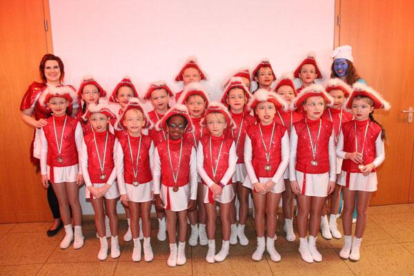 Kinderfasching in Freienseen - Die kleinen Minis