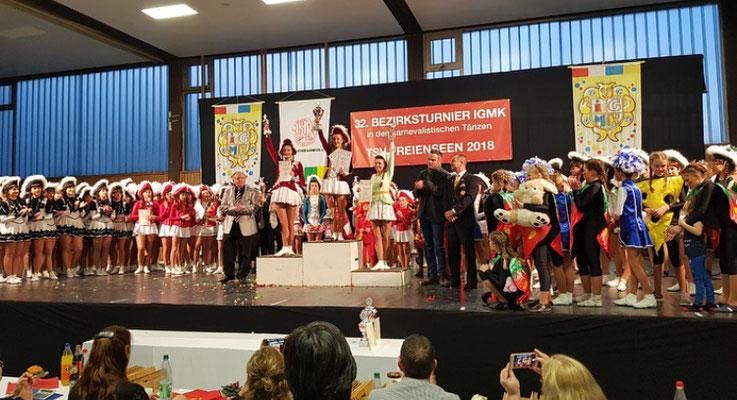 Aktive Tanzmariechen Bezirksmeisterschaft 2018