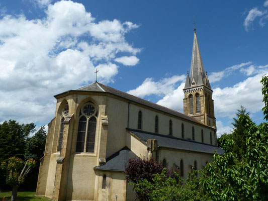 Church of Garlin - bastide circuit  (Vic-Bilh / Madiran)