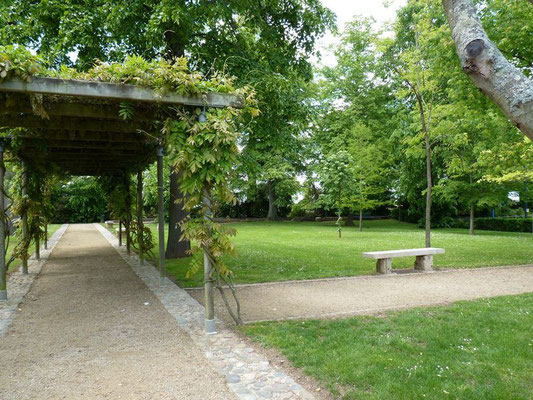 City park - Bastide of Garlin (Vic-Bilh)