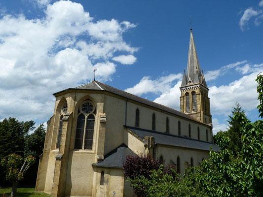 Church - Bastide of Garlin (Vic-Bilh)