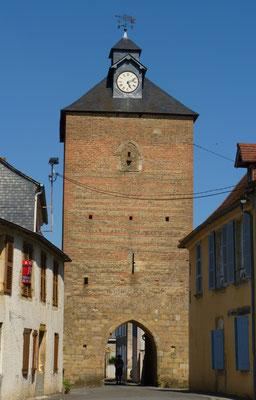 Bastide circuit of Lembeye - clock tower (Vic-Bilh / Madiran)