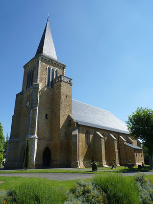 Bastide circuit of Lembeye - church (Vic-Bilh / Madiran)