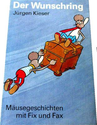 Neuauflage - Der Wunschring, Vorderseite; 1. Auflage 19??, 2. Auflage 1997 (600 St.)