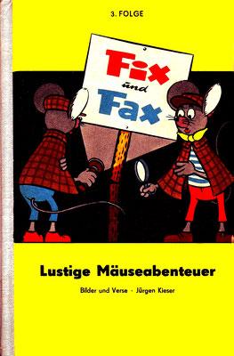 Lustige Mäuseabenteuer, Band 3, Vorderseite, gelb, 1966