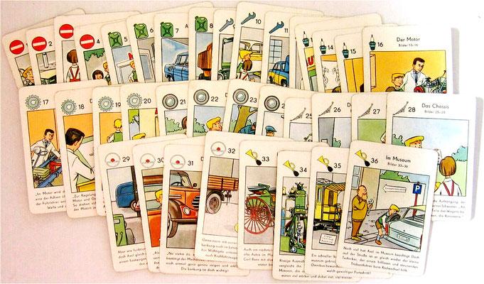 36 Spielkarten