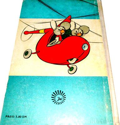 Lustige Mäuseabenteuer, Band 2, Rückseite, blau, 1964