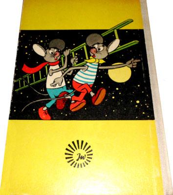 Lustige Mäuseabenteuer, Band 3, Rückseite, gelb, 1966