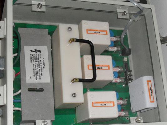 Modulos redundantes del protector MCG
