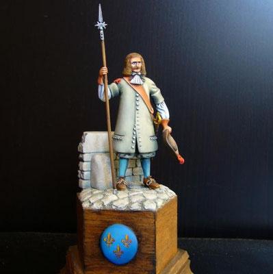 1990 Garde française 1664