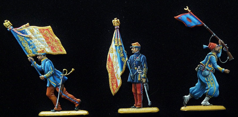 Zouave  et Turcos second Empire - 30mm - édition Droste