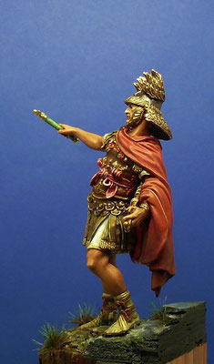 officier de la 2ème légion romaine  43 avant JC - Alexandros modeles 54mm