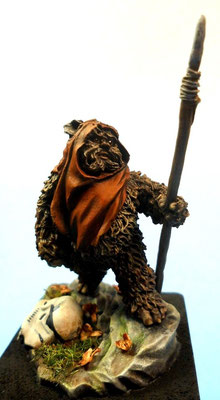 Ewoks - 75mm Night Models