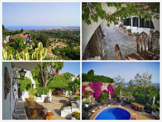 Molino Amici Artium, MIjas, Costa del Sol, Malaga, Spanien, Urlaub - Bernd Seidel & Patrick Gabriel