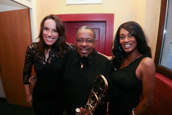 w/ the wonderful Maureen Fernandes and Funk Legend Fred Wesley!