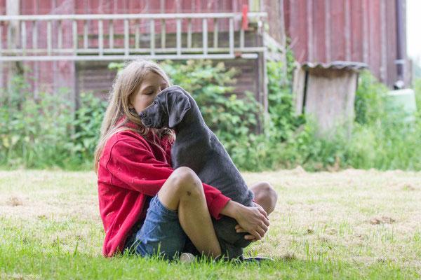Lenya, die Hundeflüsterin