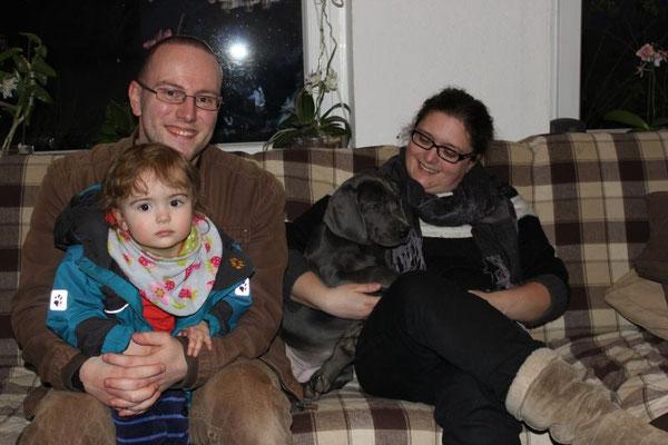 Die süße Annelie wird jetzt Ronja gerufen und wohnt nun in Sereetz bei den lieben Grundmanns!! Auch Ronja bekommt ein gaaanz tolles Zuhause!