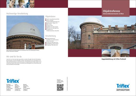 Layout von Objektreferenzen – Triflex GmbH & Co. KG (copyright: LUCCA Studios GmbH)