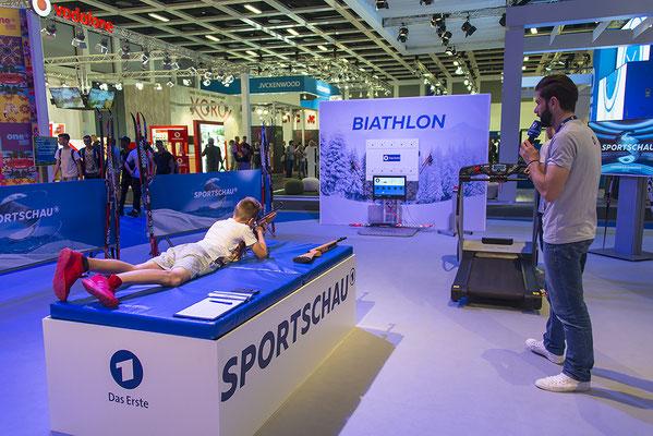 Biathlonsimulator, Biathlon-Simulator, Einzelmodul spezial