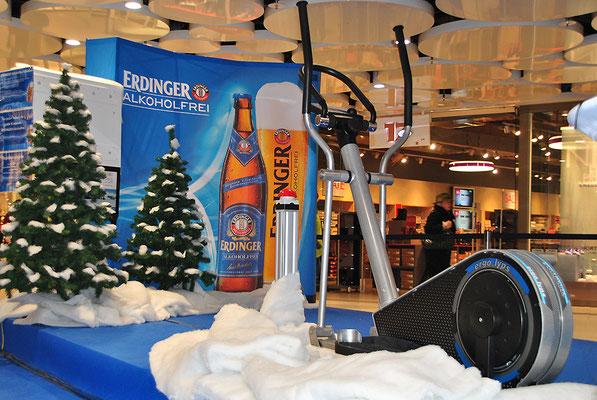 Biathlonsimualtor für Erdinger Alkoholfrei