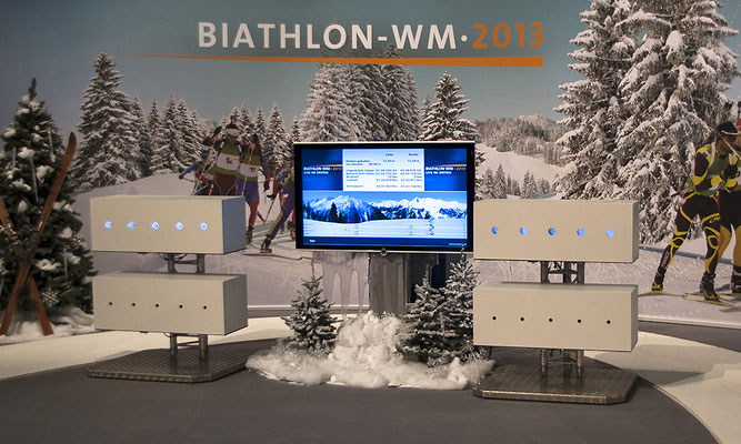 Biathlonsimulator, Biathlon-Simulator