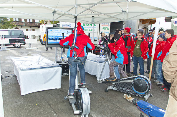 Biathlonsimulator, Biathlon-Simulator, Doppelmodul XL