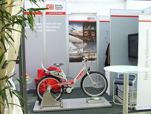 Fahrradsimulator für DB Rent