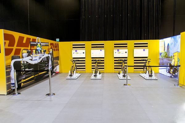 Energiefahrräder für DHL