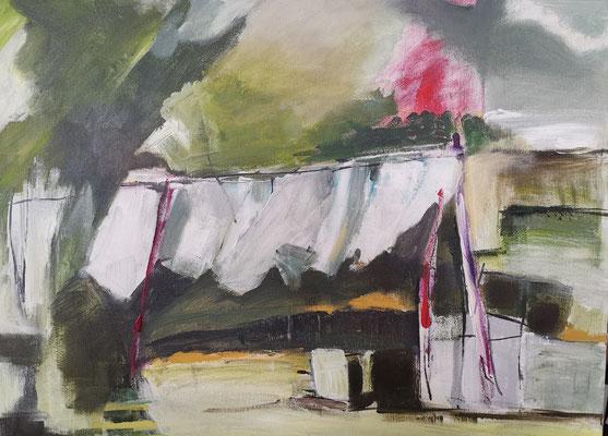 Wäsche; 60x80; Acryl