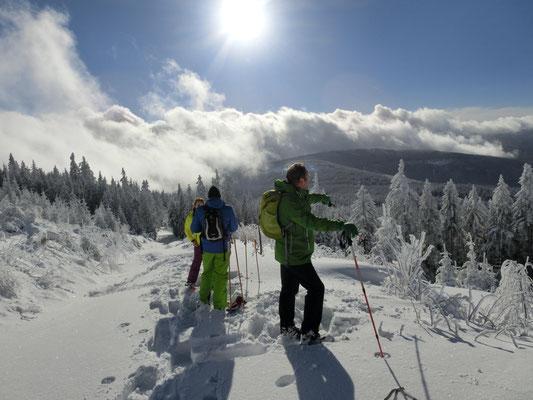 Winterwandern mit herrlichem Panoramablick