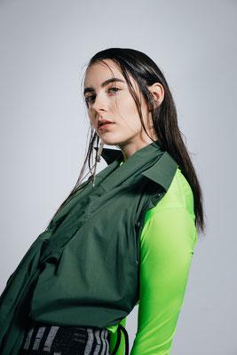 Foto: Laurin Keul, Model: Lisa Graf, Fashion: Veronique Schweizer, Majakais