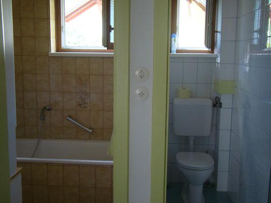 Bad und WC Erdgeschoß