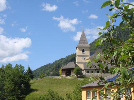Kirche in Hollenstein an der Ybbs