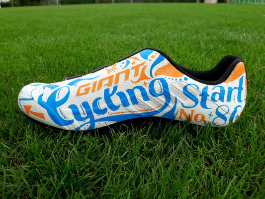 Goldkind Design Custom desined cycling shoes