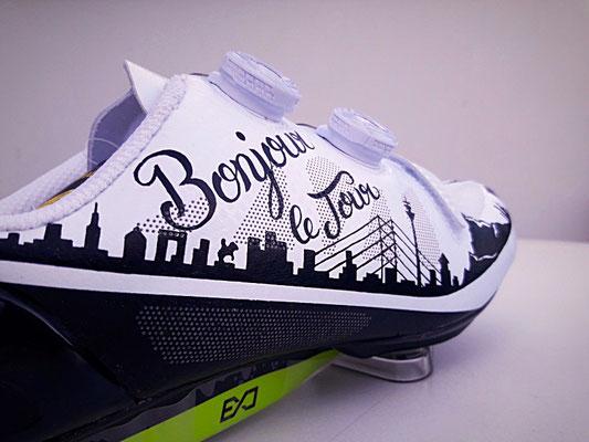Le Tour de France Edition, Goldkind Design Shoes
